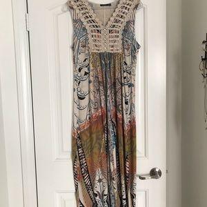 Earth tone maxi dress
